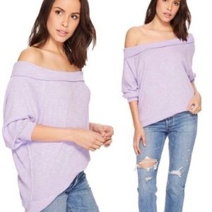 Free People Palisades Top - Lilac - Like New!